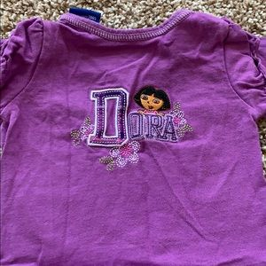 Nickelodeon Matching Sets - Dora Outfit with 2 shirts